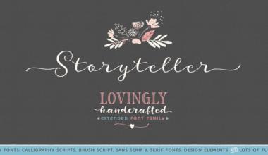 202739 380x220 - Font dňa – Storyteller