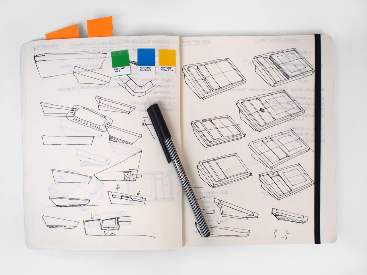 3056991 inline i 9 marshall 16 famous designers show us inside their favorite notebooks copy - Aké zápisníky obľubujú dizajnéri?