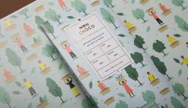 1 Mon Choco chocolate brand and packaging design by studio Futura 380x220 - Mon Choco – identita plná hravej ilustrácie