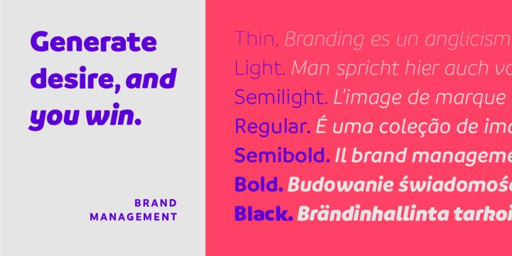 206827 - Font dňa – Branding
