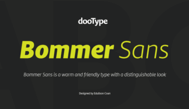211074 380x220 - Font dňa – Bommer Sans