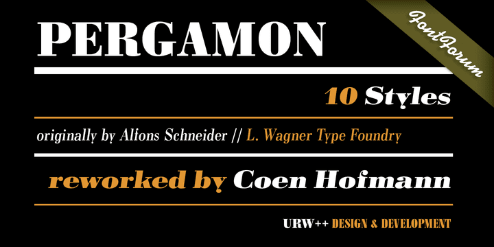 208678 - Font dňa – Pergamon