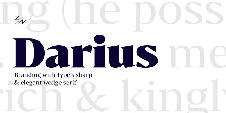 211178 - Font dňa – Bw Darius