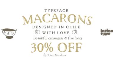 212816 380x220 - Font dňa – Macarons
