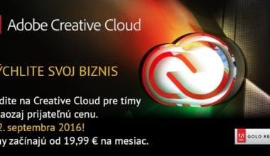 ADOBECC 380x220 - Letné PROMO Adobe – zľava 33% na Adobe Creative Cloud pre tímy
