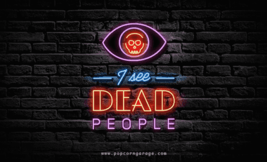 dead people gif 380x231 - Neónové nápisy + populárne filmy = Nová sada GIFiek