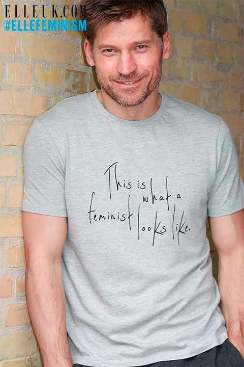 elle uk tricko - Feminizmus na tričku Usaina Bolta