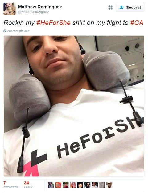 hfs - Feminizmus na tričku Usaina Bolta