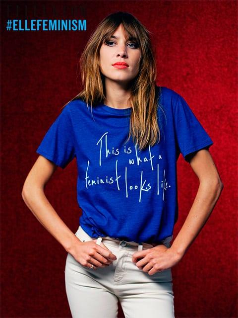 note ellefeminism - Feminizmus na tričku Usaina Bolta