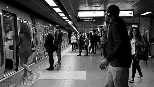 1 - Atmosféru metra zachytená v GIFoch