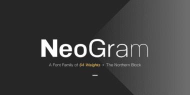 212224 380x190 - Font dňa – NeoGram