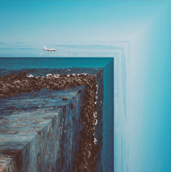 1 Surreal mindbending photo series photographer graphicdesigner PeteyUlatan - Surrealistické fotografie zobrazujú svet v ostrých uhloch