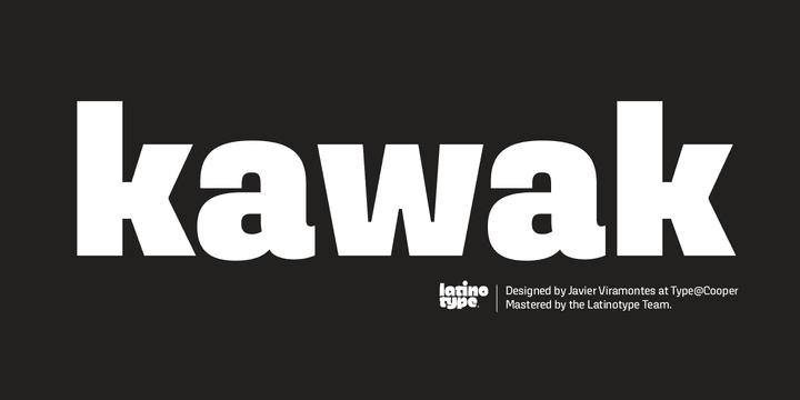 216552 - Font dňa – Kawak