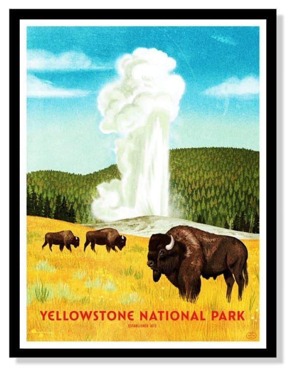 yellowstone-national-park-four-color-screen-print-by-brave-the-woods
