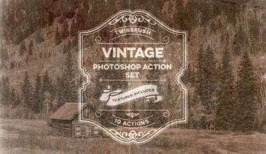 cover o 380x220 - Vintage Effect Photoshop Actions zadarmo!