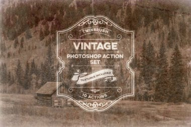 cover o 380x253 - Vintage Effect Photoshop Actions zadarmo!
