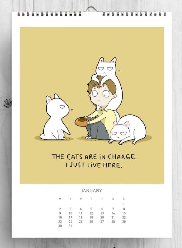 3-cat-lovers-2017-cat-calendar-lingvistov