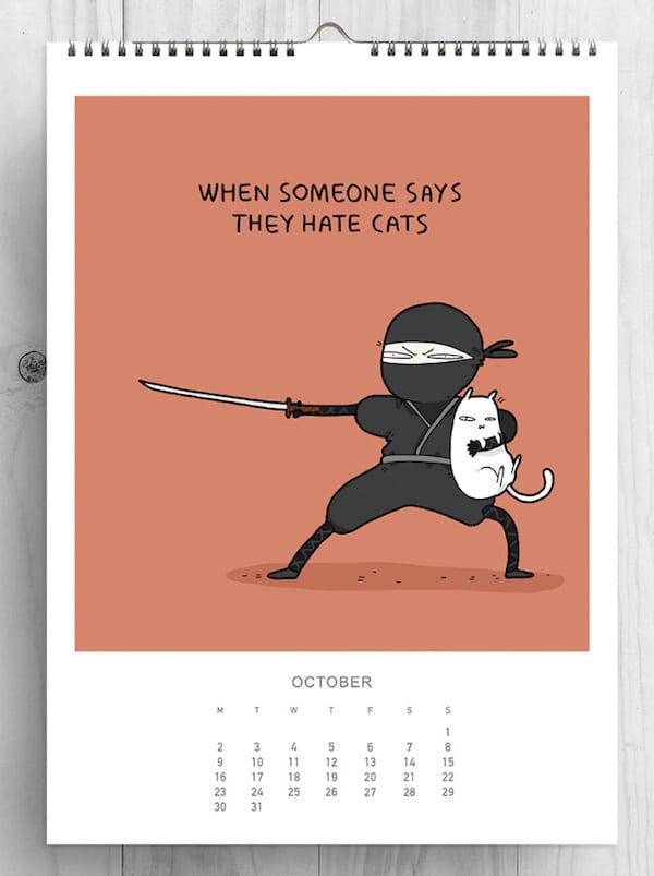 5-cat-lovers-2017-cat-calendar-lingvistov