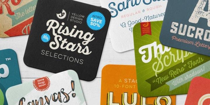 219249 - Font dňa – Yellow Design Studio Rising Stars Selections