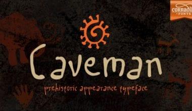 203396 380x220 - Font dňa – Caveman