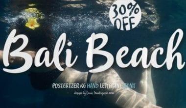222229 380x220 - Font dňa – Bali Beach