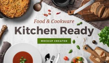 01 kitchen ready mockup thumbnail  380x220 - Prepracovaný Kitchen Ready Mockup Creator za 46,80 dolárov