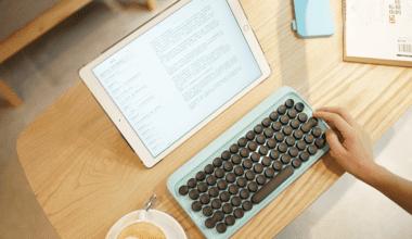 10 380x220 - Klávesnica inšpirovaná klasickým písacím strojom