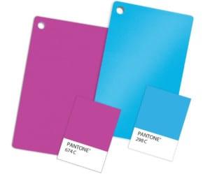 PANTONE Plastic Standard Chips – PMS