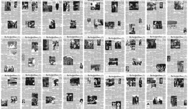 times 380x220 - Pohyblivá inšpirácia – Every NYT front page since 1852