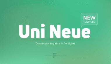 225866 380x220 - Font dňa – Uni Neue