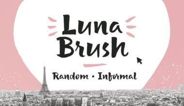 228106 380x220 - Font dňa – Luna Brush