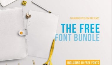 cover 380x220 - Bezplatný March Font Bundle z TheHungryJPEG
