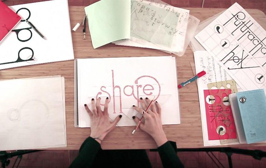image 5 - Futuracha PRO: font, ktorý pri písaní mení svoj tvar