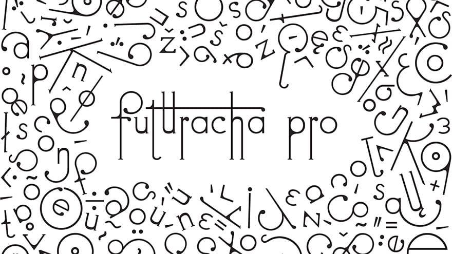 image 6 - Futuracha PRO: font, ktorý pri písaní mení svoj tvar