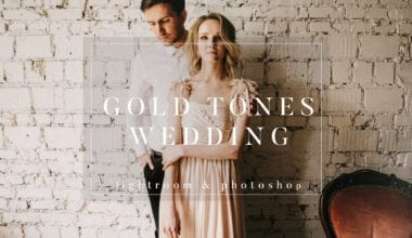 phcover  380x220 - Gold Film Toned Wedding Presets zadarmo!