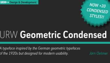 207730 380x220 - Font dňa – URW Geometric Condensed