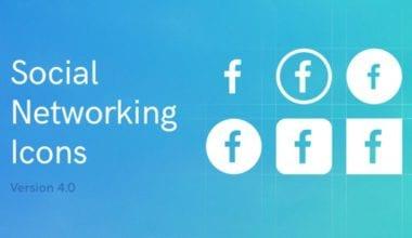 223100 380x220 - Font dňa – Social Networking Icons