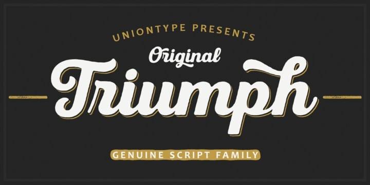 223892 - Font dňa – UT Triumph