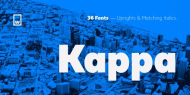 227270 380x190 - Font dňa – Kappa