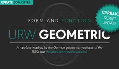 228556 1 380x220 - Font dňa – URW Geometric