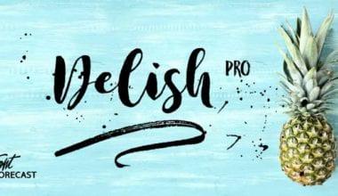 229562 380x220 - Font dňa – Delish Pro