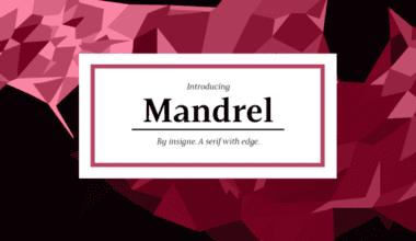 232256 380x220 - Font dňa – Mandrel