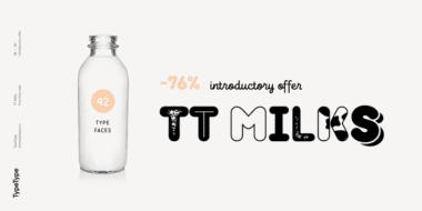 232838 380x190 - Font dňa – TT Milks
