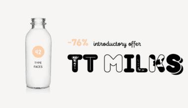 232838 380x220 - Font dňa – TT Milks