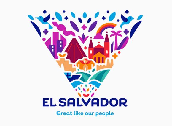 Interbrand El Salvador V 3 580x423 - El Salvador prichádza s pestrofarebným vizuálom