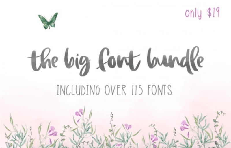 cover 1 800x512 - The Big Font Bundle s 99% zľavou!