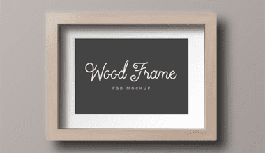 cover 4 380x220 - Mockup dreveného fotorámu zadarmo