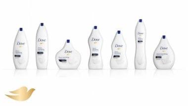 1 Dove Package Design All Shapes Sizes Real Beauty Marketing 380x214 - DOVE debutuje s novými obalmi všetkých veľkostí a tvarov, aby vyzdvihol ženskú krásu