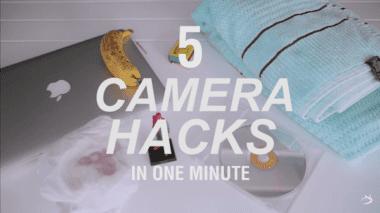 1 Watch five genius DIY camera hacks in one minute photography tutorial 380x213 - 5 skvelých a jednoduchých DIY vylepšení pre každého fotografa