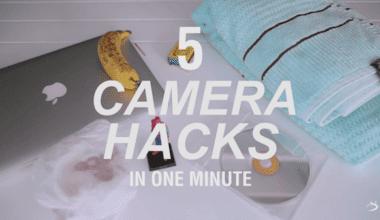 1 Watch five genius DIY camera hacks in one minute photography tutorial 380x220 - 5 skvelých a jednoduchých DIY vylepšení pre každého fotografa